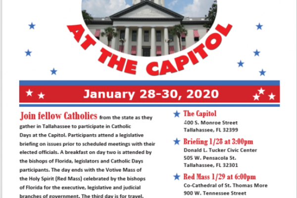 Catholic Days at the Capitol